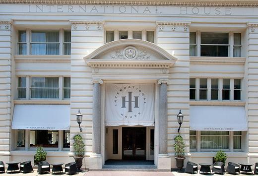 International House Facade