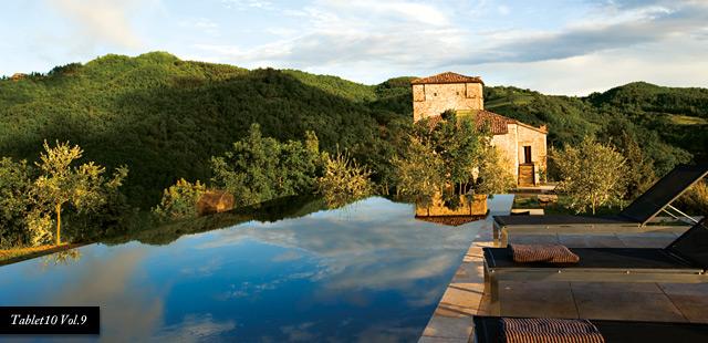 Torre di Moravola infinity pool