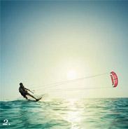 Kite surfing in Jose Igancio